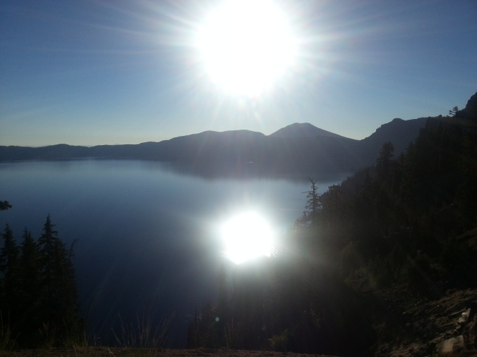 Crater Lake early morn